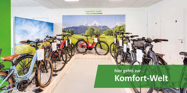 e-Bike Komfort Welt Ausstellung in Aarau-Ost