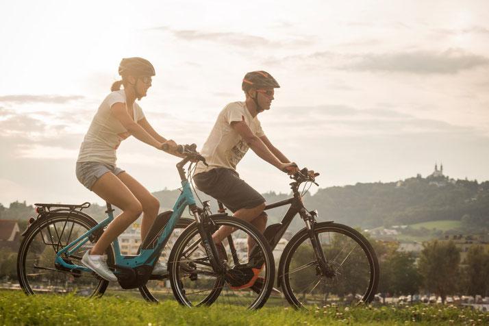 KTM Macina Dual Trekking e-Bikes 2017