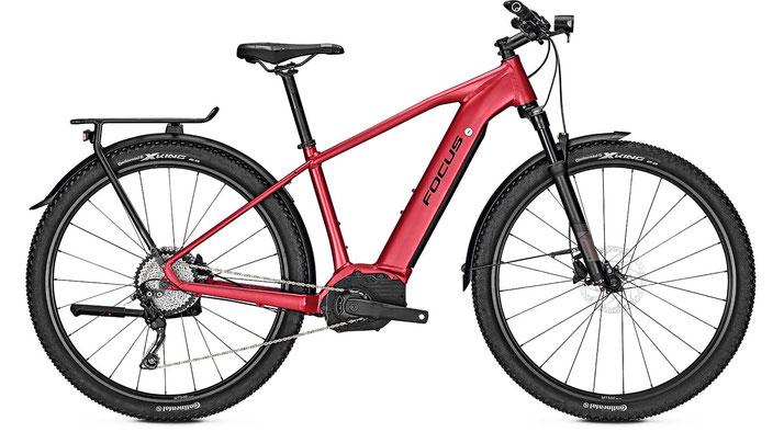 Focus Aventura² Trekking e-Bike 2017