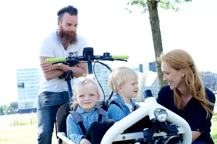 Cargo e-Bikes in der e-motion e-Bike Welt Hombrechtikon