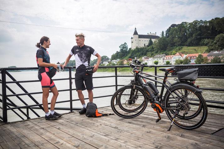 KTM Macina Sport Trekking e-Bikes 2017