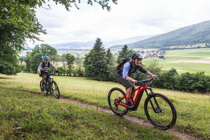 Speed-Pedelecs probefahren, kaufen und von Experten beraten lassen in der e-motion e-Bike Welt in Hombrechtikon