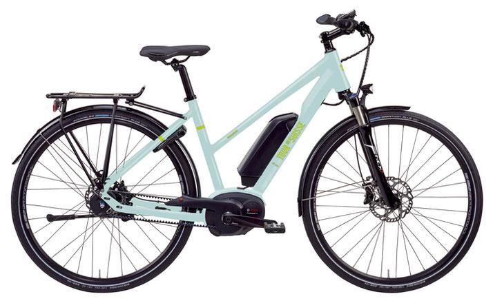 Tour de Suisse Broadway 700 C, 25 km/h Trekking e-Bike 2017