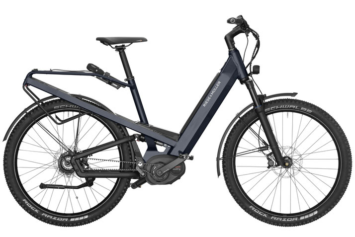 Riese & Müller Homage GX Rohloff 2019 e-Bike - deepsea blue metallic