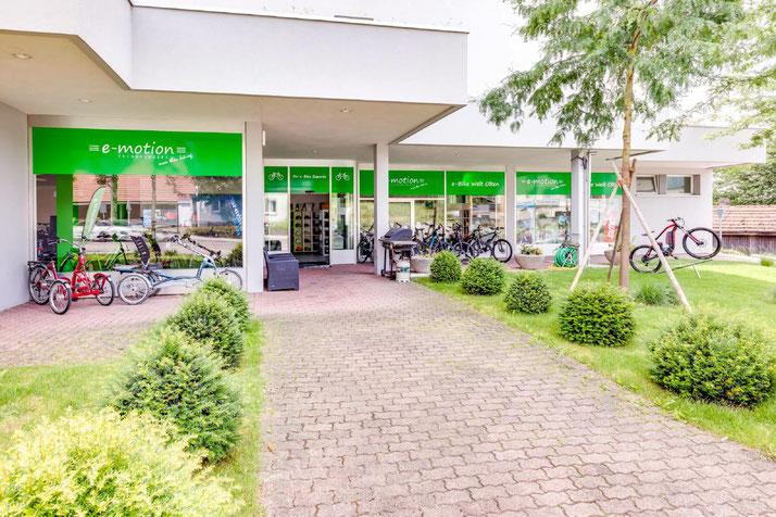Im Shop in Olten können Sie sich viele verschiedene City e-Bikes ansehen