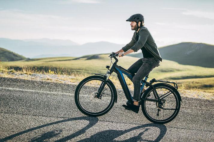 Riese und Müller Supercharger – Lange Akkukapazität für ausgiebige Trekkingfahrten