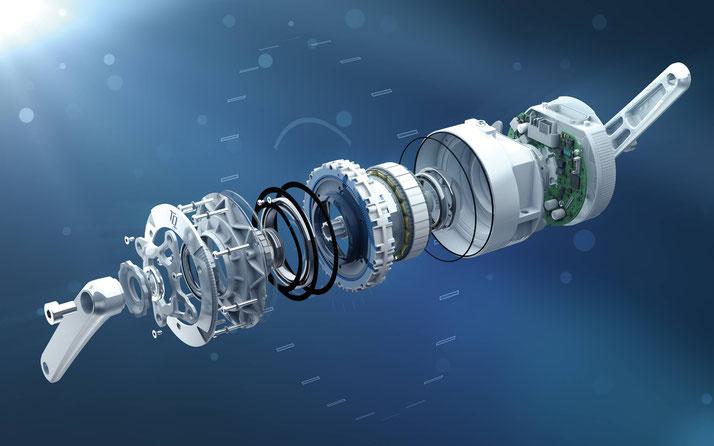 Der TQ HPR 120S ist ein Hochleistungsmotor vom Unternehmen TQ-Systems