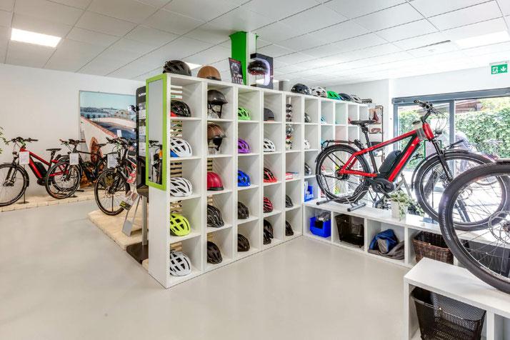 e-Bike Zubehör in der e-motion e-Bike Welt Aarau-Ost ausprobieren und kaufen