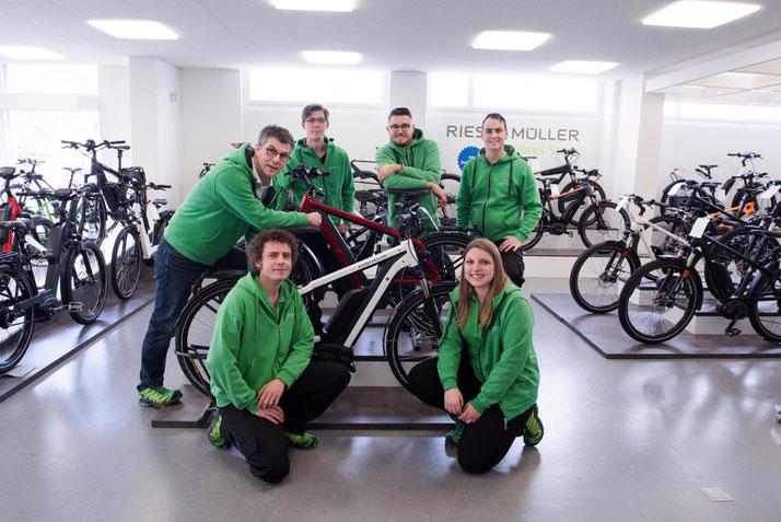 Speed Pedelec Experten in der e-motion e-Bike Welt Dietikon
