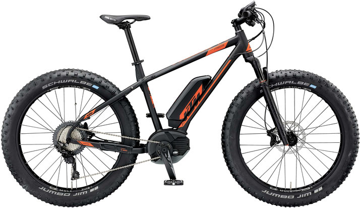 KTM Macina Freeze 261 e-Mountainbike/Fatbike 2018