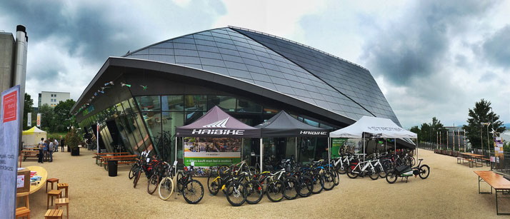e-Bike und Elektrovelos am Velotag in Limmastadt