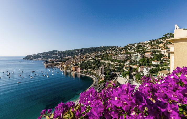 Exklusive e-Bike Reise an die Côte d'Azur mit e-motion und emountainbikereisen.ch buchen