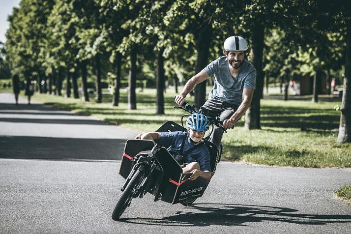 Lasten e-Bikes probefahren und kaufen in der e-motion e-Bike Welt Aarau-Ost