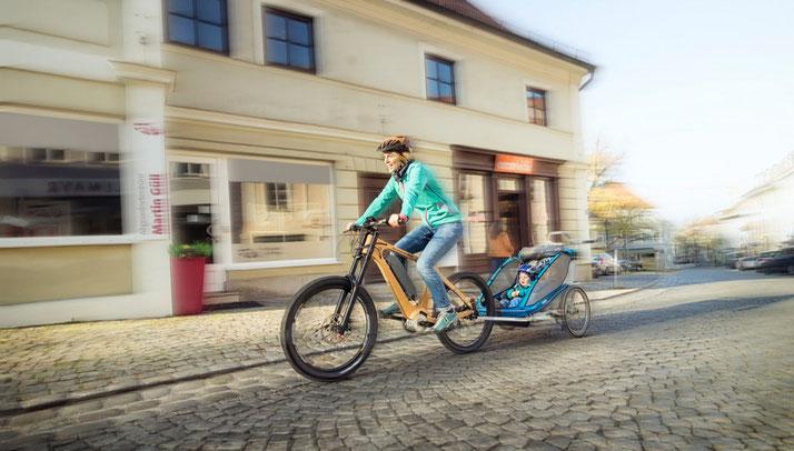 Den e-Bike Antrieb TQ HPR 120S gibt es für normale Pedelecs und Speed-Pedelecs