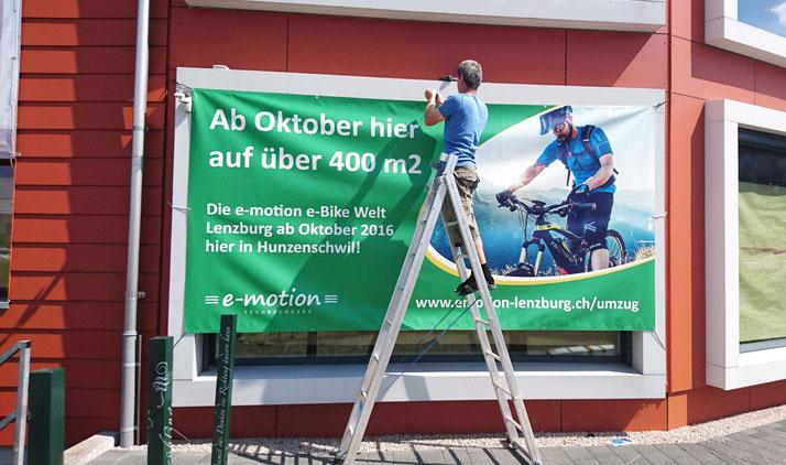 e-motion e-Bike Welt Hunzenschwil