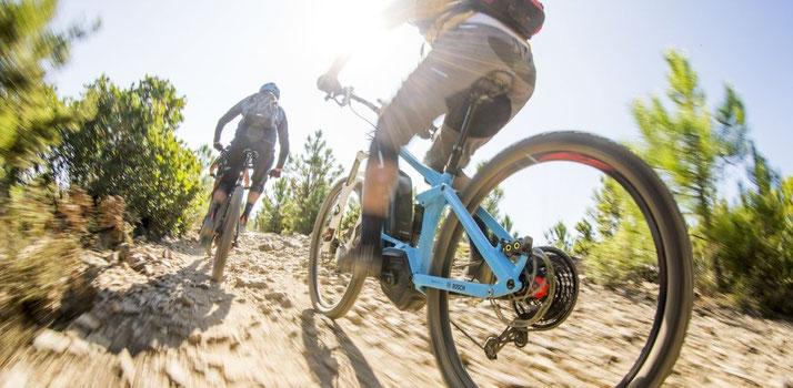 Der e-MTB Modus ist neu beim Bosch Performance CX e-Bike Antriebssystem