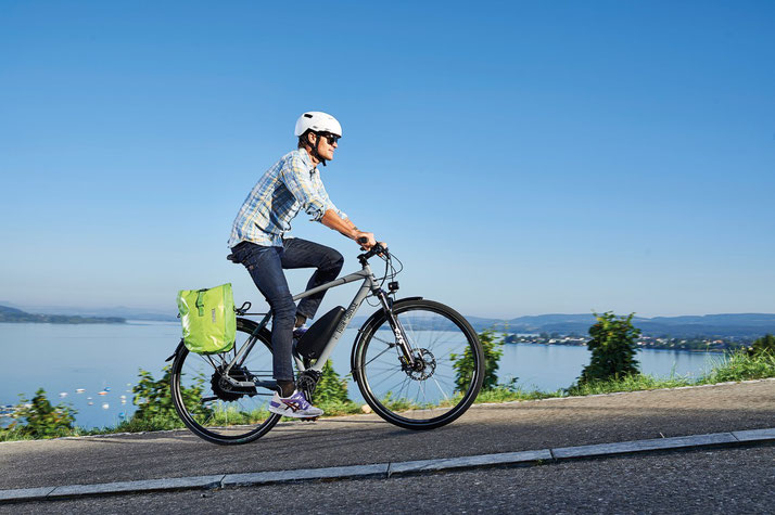 Tour de Suisse Broadway Trekking e-bike 2017