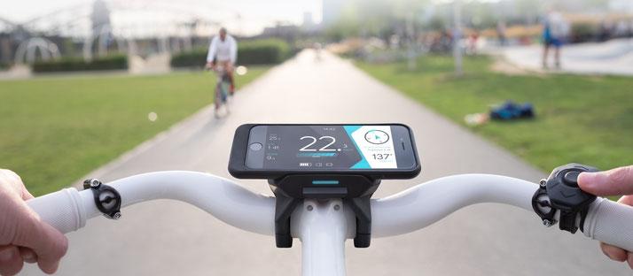 Nutzen Sie Ihr Smartphone als e-Bike Display mit COBI.bike und Bosch