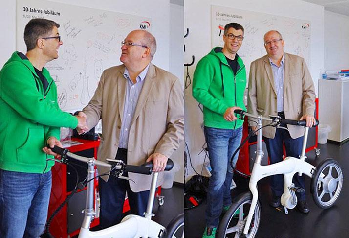 Mando Footloose Kompakt e-Bike Gewinnspiel