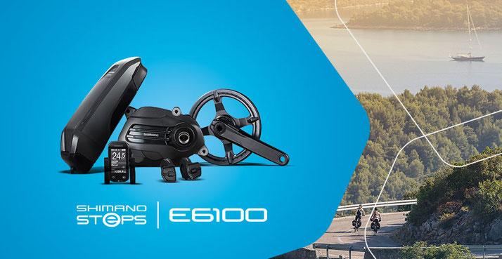 Der Shimano Steps E6100 e-Bike Antrieb für City- und Trekking e-Bikes