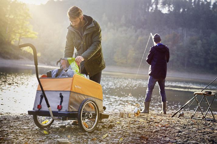 Croozer Cargo e-Bike Anhänger im Shop in Aarau-Ost