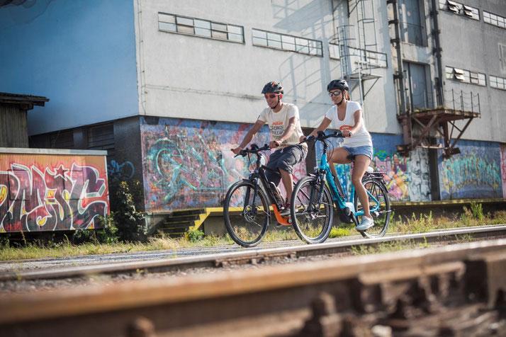 KTM Macina Eight City e-Bikes 2017