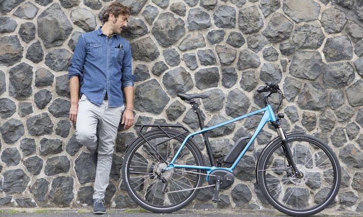 e-Bike Rahmen Form