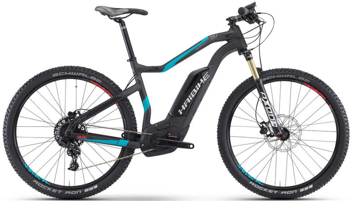 Haibike XDURO HardSeven Carbon 8.0 - 2017