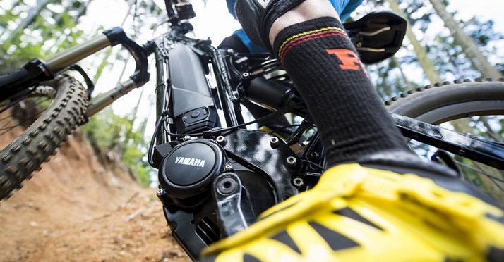 Die hochwertigen e-Bike Antriebe von Yamaha werden von vielen Herstellern genutzt