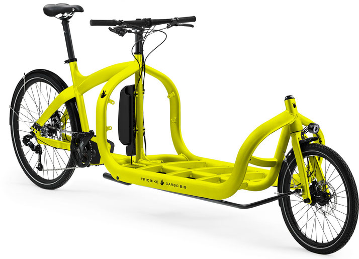 Triobike Cargo Big Shimano - Cargobike - 2019