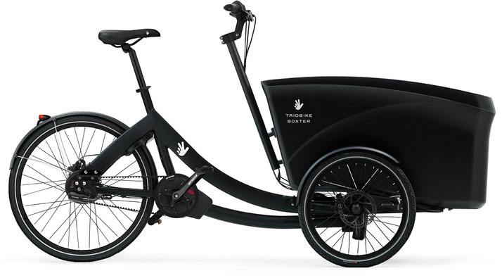 Triobike Boxter E Gates - Cargobike - 2019