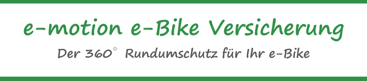 e-Bike Diebstahl Versicherung  in Erfurt