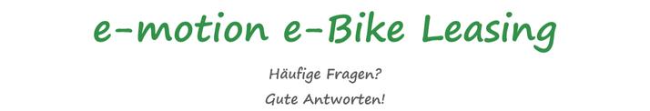 Häufige Fragen zum e-Bike Leasing