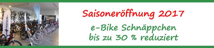 e-Bike Saisoneröffnung 2017 im e-motion e-Bike Premium Shop Würzburg