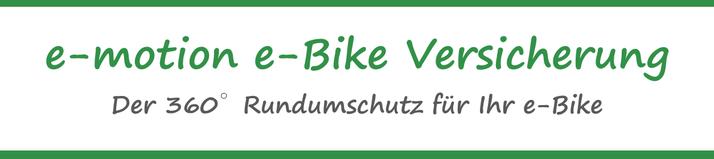 e-Bike Diebstahl Versicherung