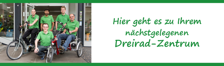 Pfau-Tec Dreiräder und Elektro-Dreiräder kaufen, Beratung und Probefahrten im Harz
