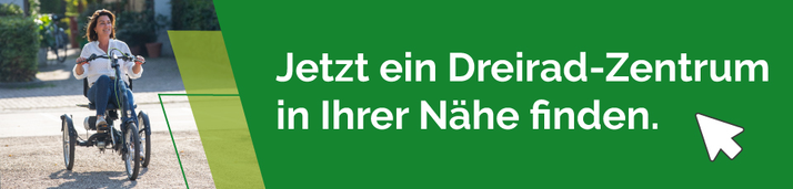 Pfau-Tec Dreiräder und Elektro-Dreiräder kaufen, Beratung und Probefahrten in München