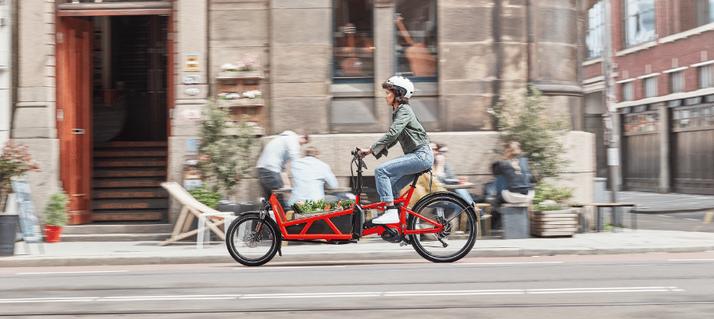 Lasten e-Bikes im Stadtverkehr