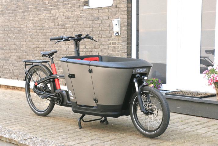 Das Classic Modell der Lasten e-Bike Marke Carqon
