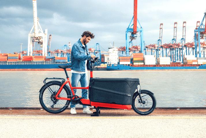 Das Lastenrad von Riese und Müller gewann den dritten Platz beim Focus e-Bike Design & Innovation Award 2021