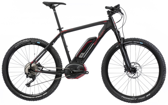 Simplon E-Dilly e-Mountainbikes 2017