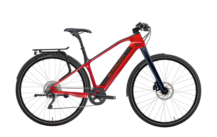 Simplon Silkcarbon ERA City/Trekking e-Bikes 2017