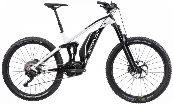 Simplon Steamer 275 Alu SLX 11 e-Mountainbike 2018