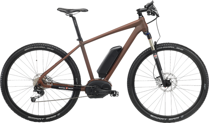 IBEX Two Face e-Bikes 2015