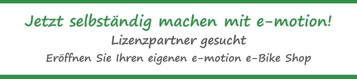 e-Bike Franchise System Schweiz