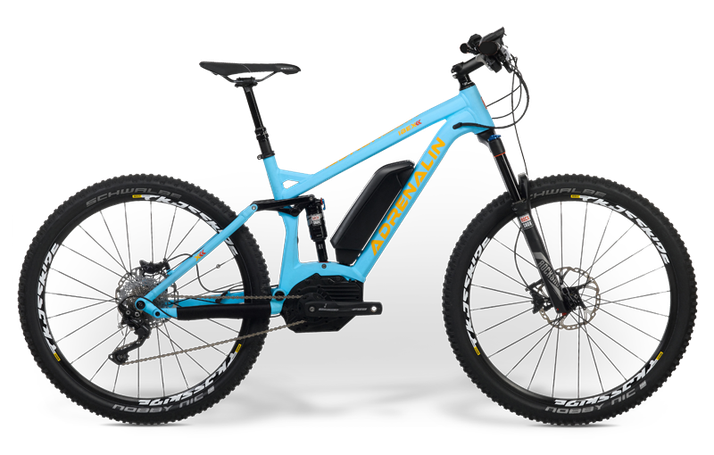 IBEX eAdrenalin e-Mountainbikes 2019