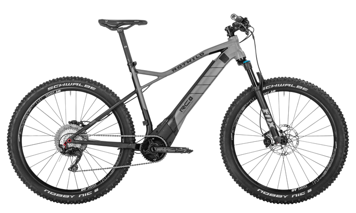 Rotwild Cross Country R.C+ TRACTION (27+) e-Mountainbike 2018