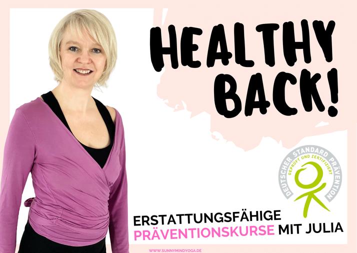 Julia Barth Yoga Präventionskurse 2022