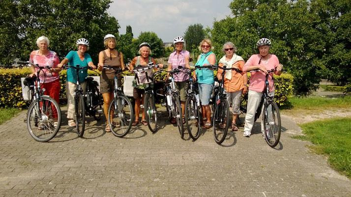 e-Bikes, Hollandräder, Damenräder e-Mountainbikes und Speed-Pedelecs mieten in Kleve