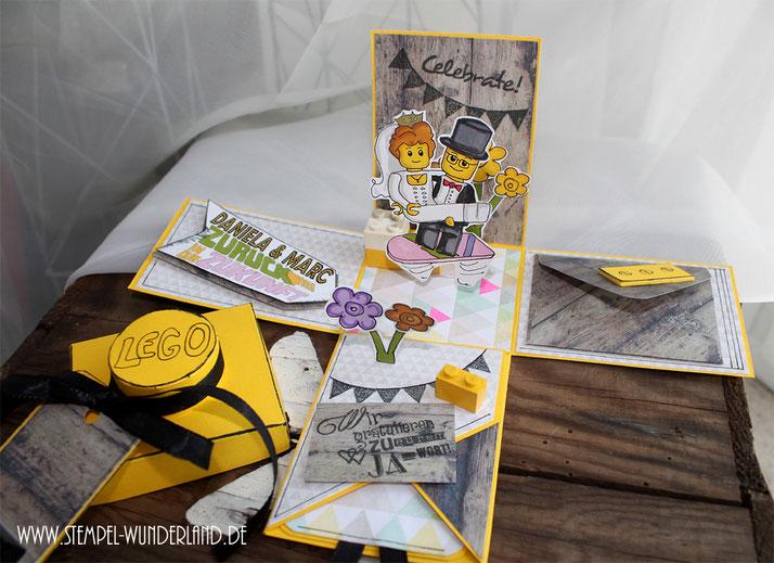 Digi Stamp Explosionsbox Hochzeit ausgefallen von www.stempel-wunderland.de